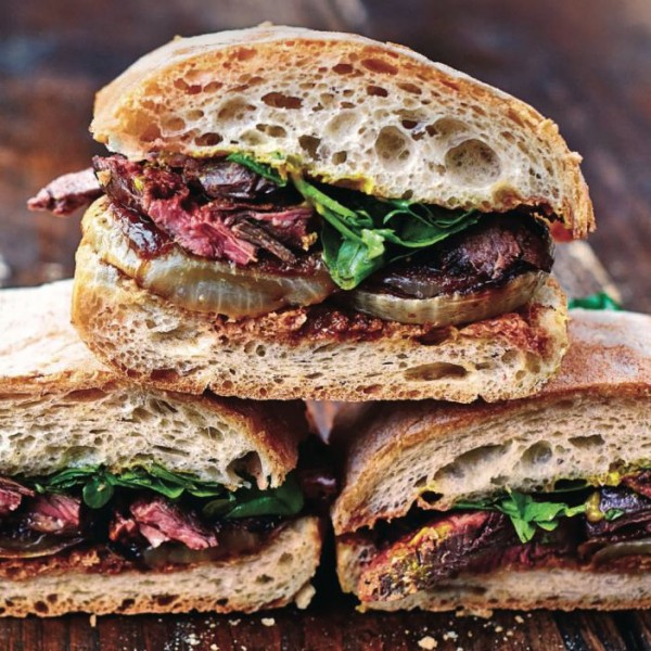 Jamie Oliver's Next-level Steak & Onion Sandwich