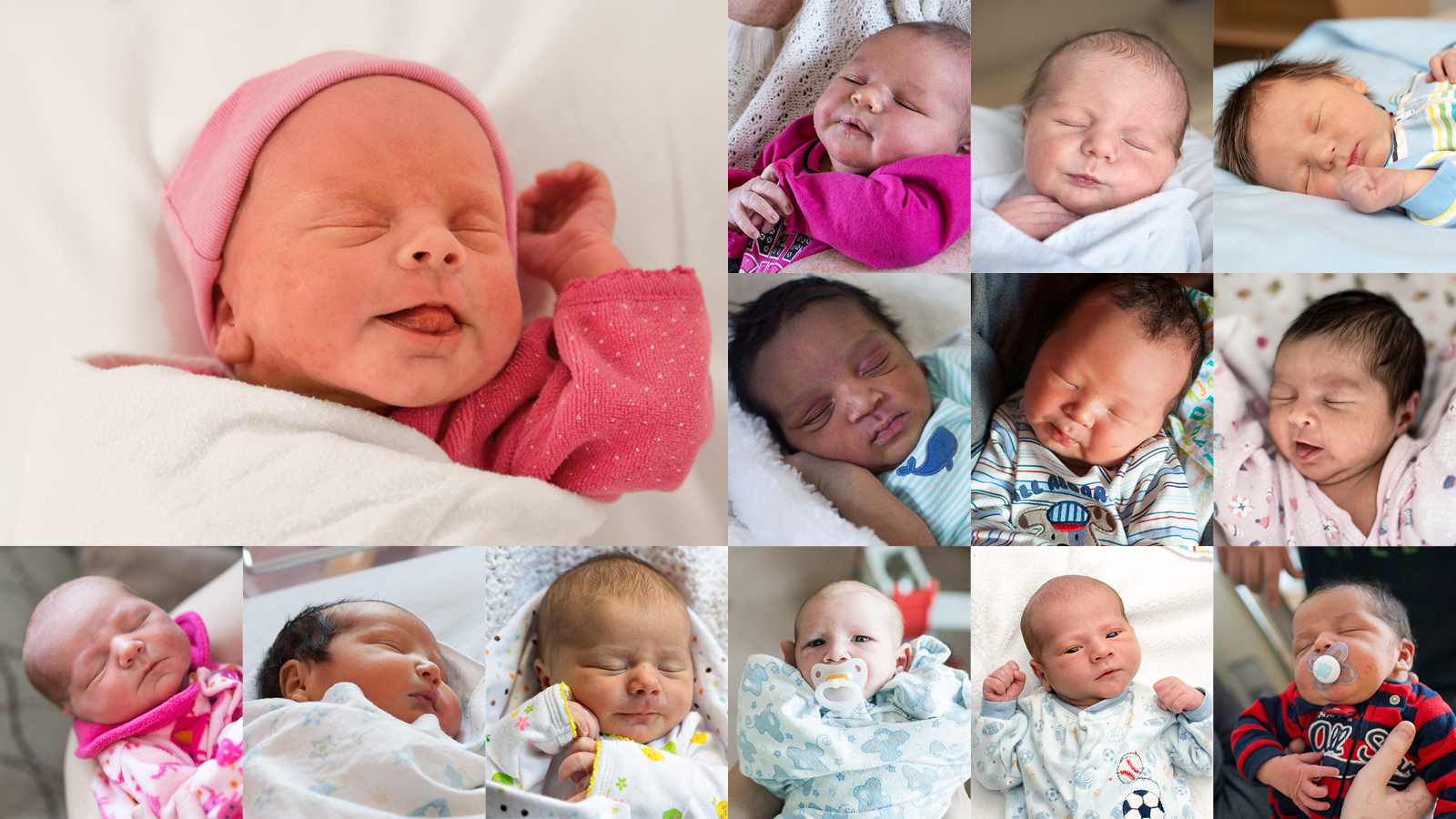 The first babies born in 2015 from every Canadian province and territory.