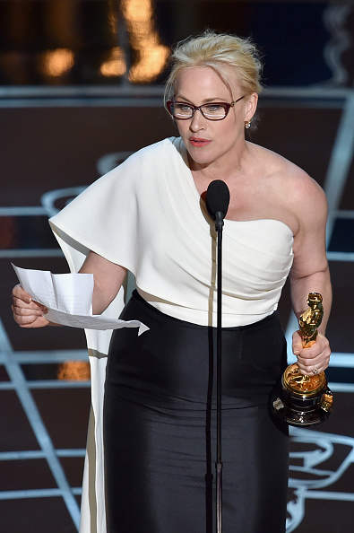 87th Annual Academy Awards - Patricia Arquette's acceptance speech