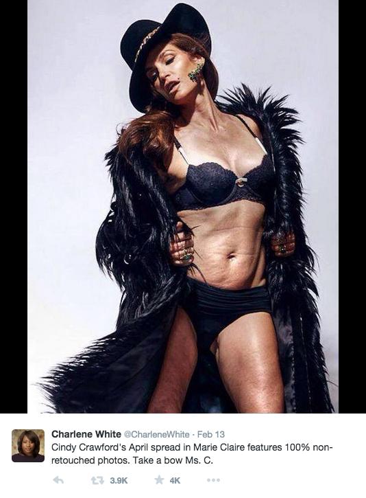 Stop Celebrating Cindy Crawfords Hot Fortysomething Bod