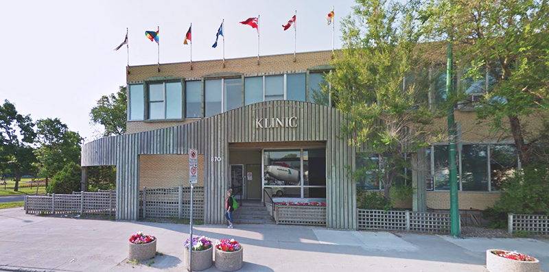Klinic Community Health Centre in Winnipeg, Manitoba.