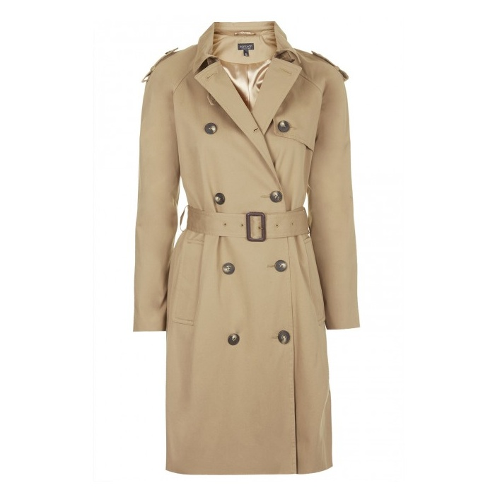One thing, four ways: Classic trench coat