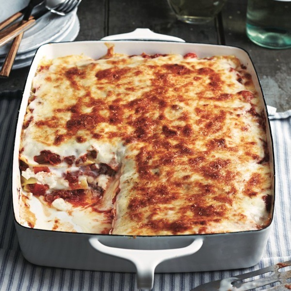 Perfect Dinner Party Menu Ideas Part - 23: Friday Night Lasagna Dinner Party Menu