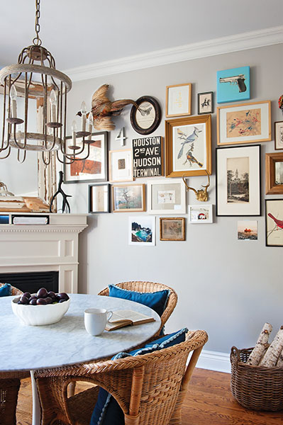 7 tips to hanging beautiful art in your home chatelaine for Displaying pictures in your home