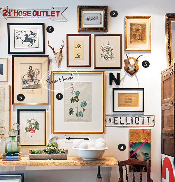 Pictures To Hang In Dining Room: How To Hang A Gallery Wall In Six Easy Steps- Chatelaine
