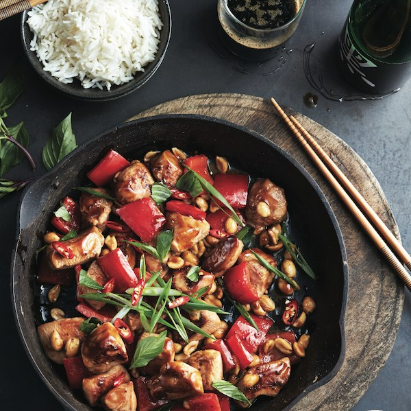 How to make a stir-fry - Kung Pao chicken stir fry