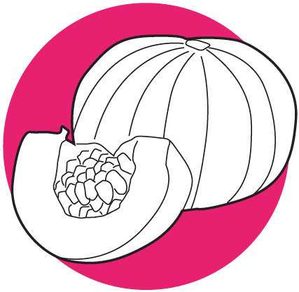 kabocha melon
