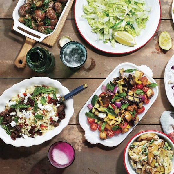 Grilled side salads