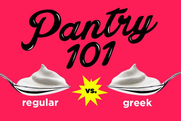 Regular vs greek yogurt