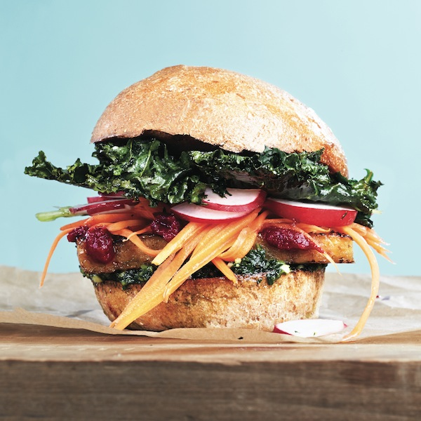 Tempeh superfood burger