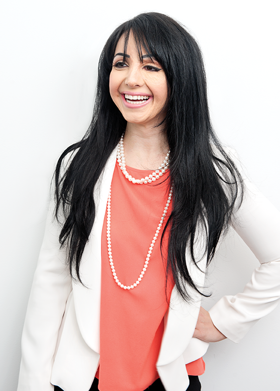 Basma Hameed, Toronto paramedical micro-pigmentation specialist. Photo credit, Sian Richards.