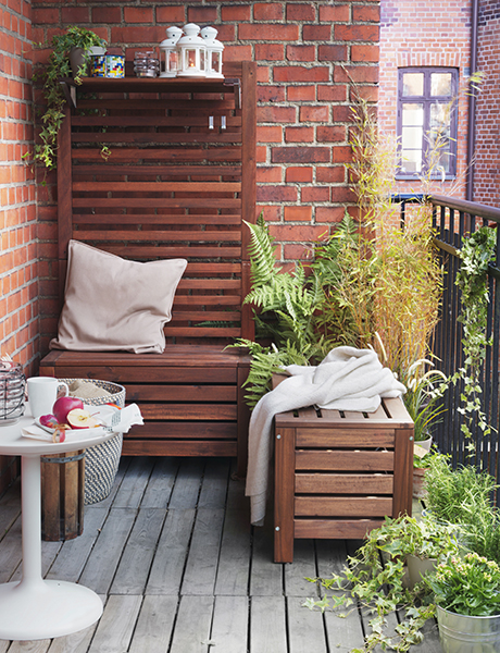 outdoor decorating tips-ikea storage benches