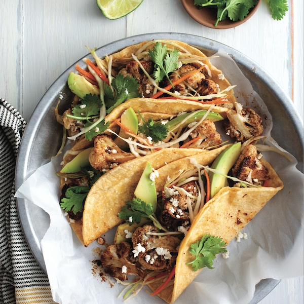 Dinner Plan: Cauliflower tacos