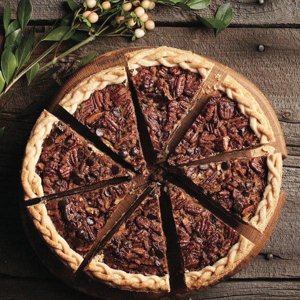 Thanksgiving desserts: Chocolate-bourbon pecan pie