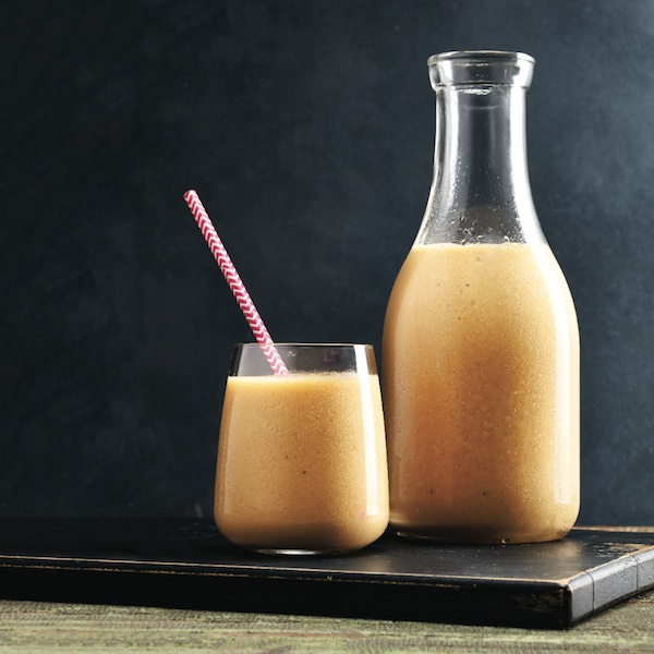 Harvest spice squash smoothie
