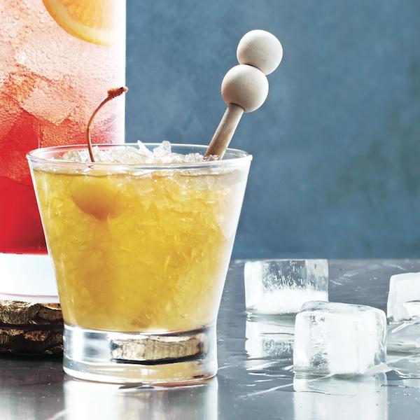 Rum sour cocktail recipe