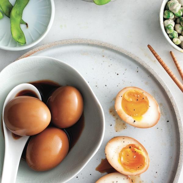 Shoyu eggs