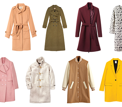 12 stylish coats to make winter a bit more tolerable