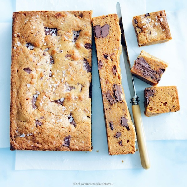 Donna Hay's salted caramel chocolate brownie - Chatelaine