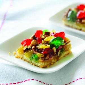 Fruitcake squares