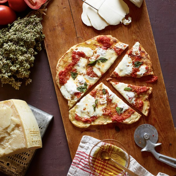 Lidia Bastiachich's pizza dough recipe
