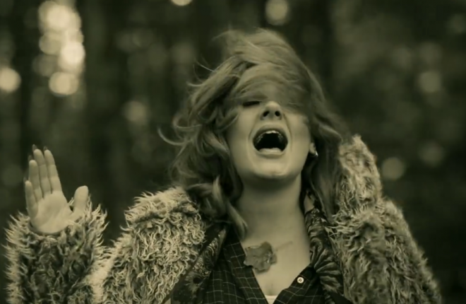 Adele belting out a song from her new album is definitely good news.