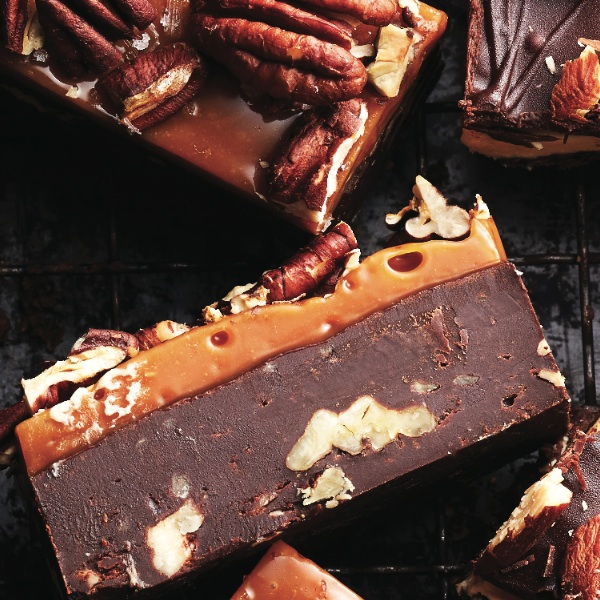 No-bake Christmas dessert: Homemade turtle fudge