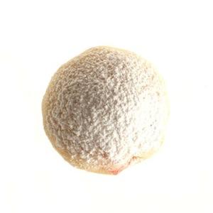 Glacé shortbread balls