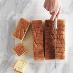 How to slice lamingtons