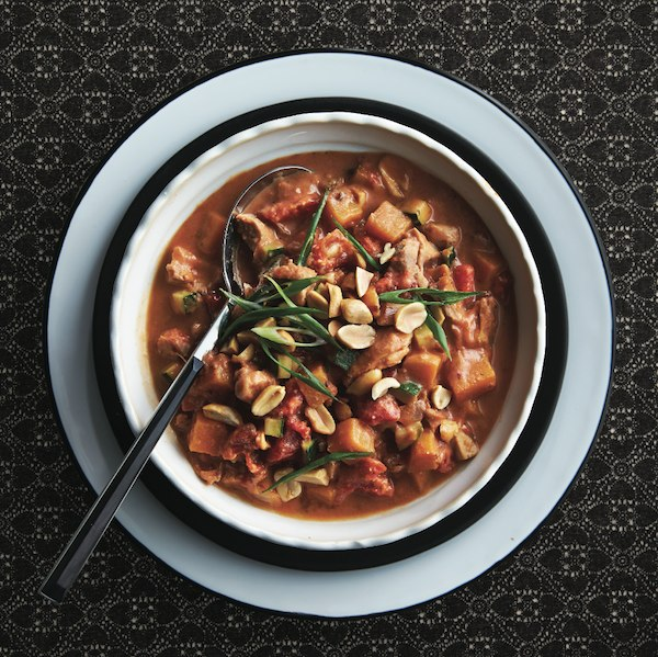 Best recipes of 2016: Nutty chicken and squash stew