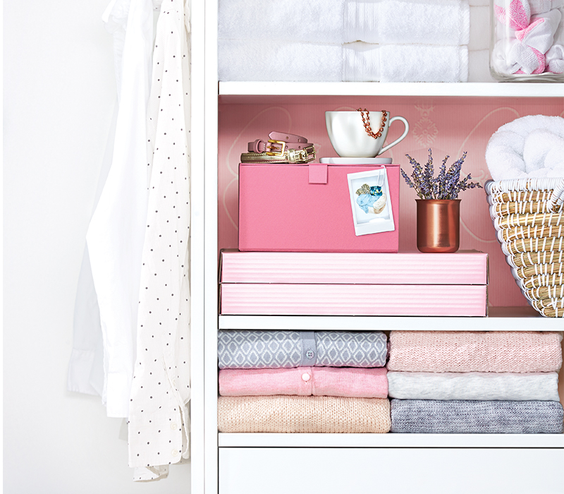 6 creative ways to get your home organized using everyday objects