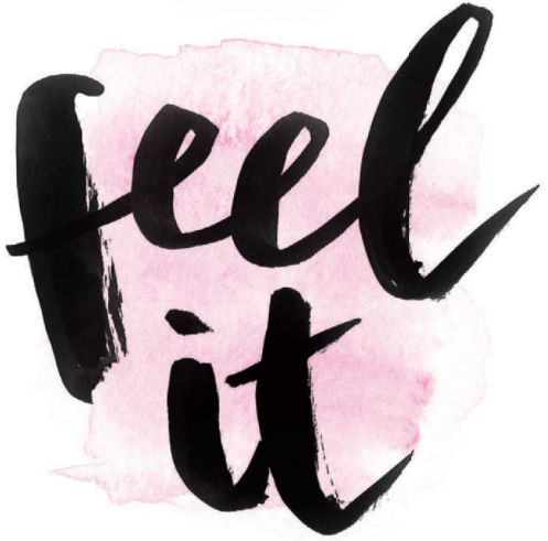 Week three of Chatelaine's breakup guide to moving on: feel it. Lettering by Nicola Hamilton