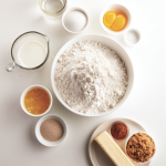 Ingredients for the Cinnamon Twist Bread Recipe