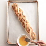 Weave the Cinnamon Twist Wreath pieces together