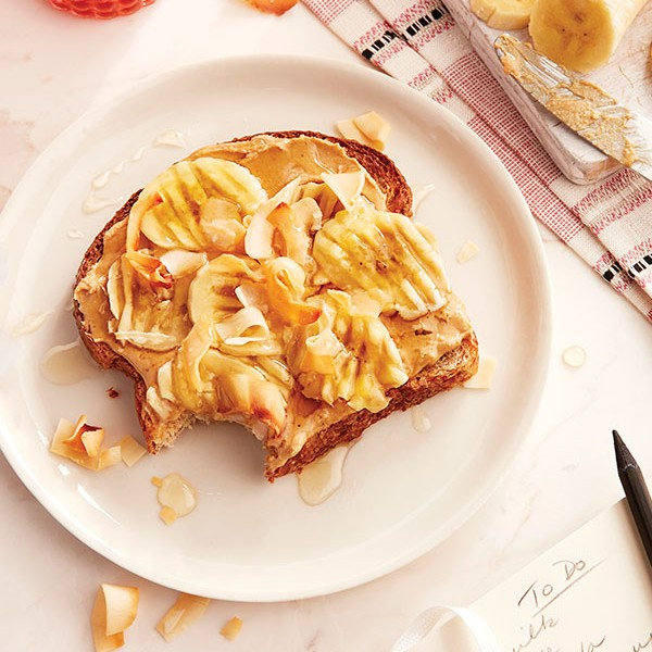 Banana-Coconut Toast