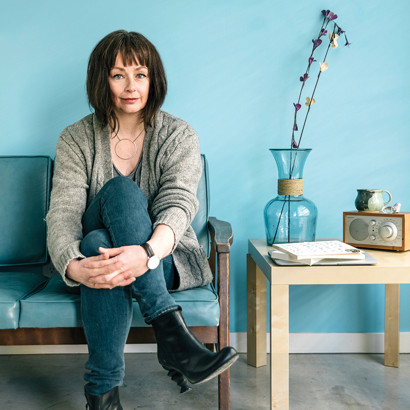 Lucy DeCoutere photographed recently in Halifax. Photo, North X North.