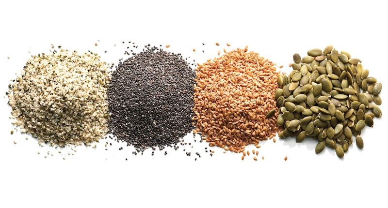 Flaxseed or chia seed