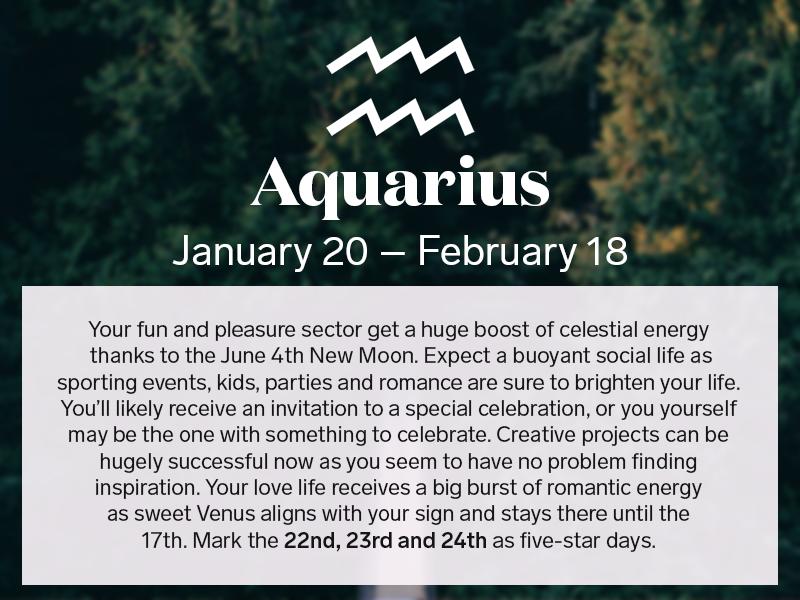 Aquarius romance