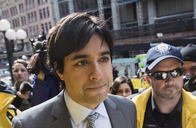 Former CBC host Jian Ghomeshi arrives at court in Toronto, Wednesday, May 11, 2016. THE CANADIAN PRESS/Mark Blinch