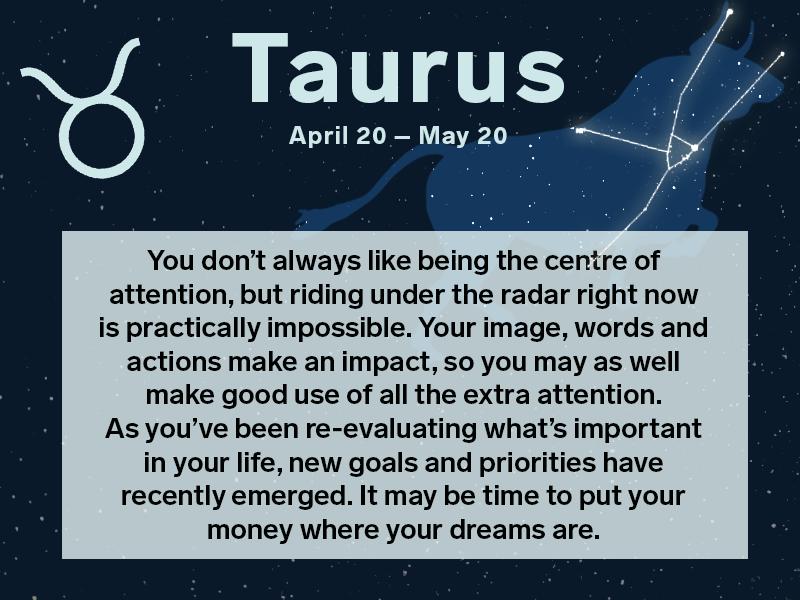 taurus dating horoscope 2016