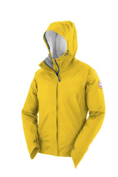 canada goose Vests Rain Yellow