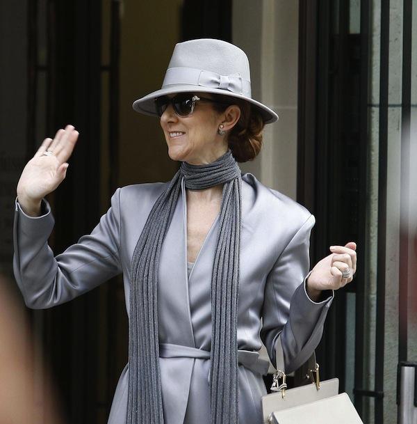 Celine Dion in Paris. Photo, Philippe Blet/REX/Shutterstock