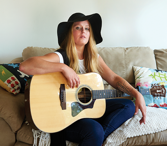 Country singer Jessica Mitchell