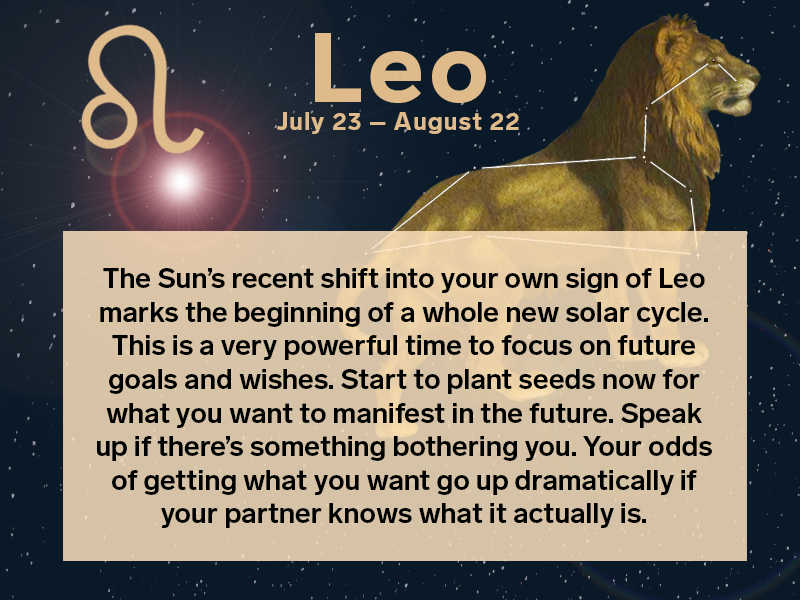 Leo Weekly Horoscope October 7, 12222