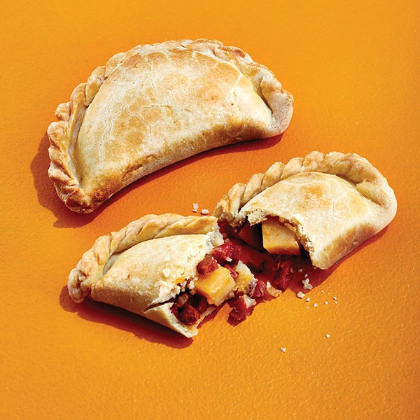 Potato and chorizo empanadas
