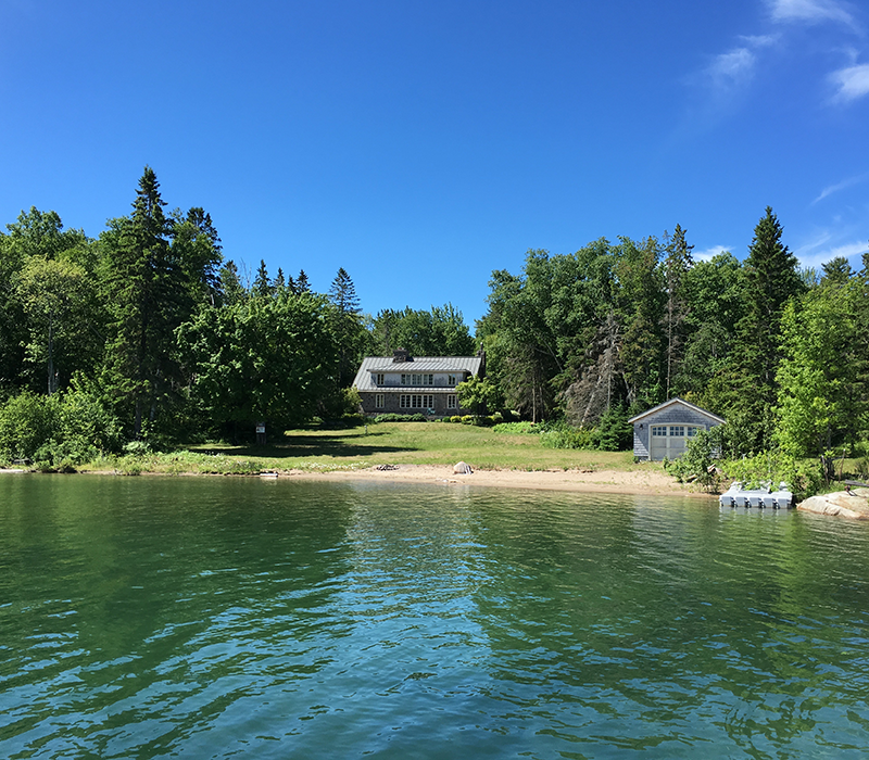 Home of the Week: A Fantasy Island on Lake Huron