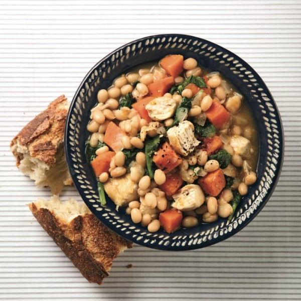 Chicken and bean stew