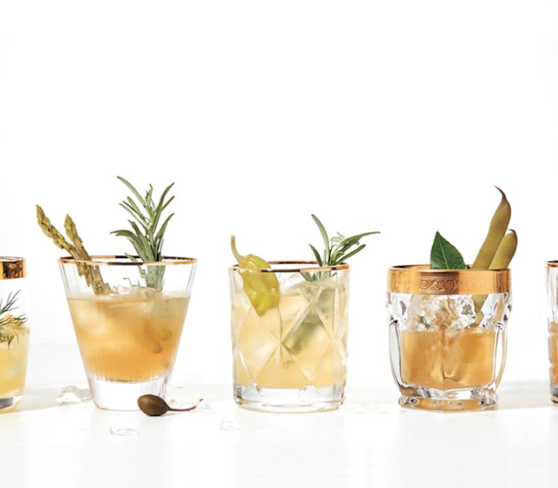 Savoury cocktail trend