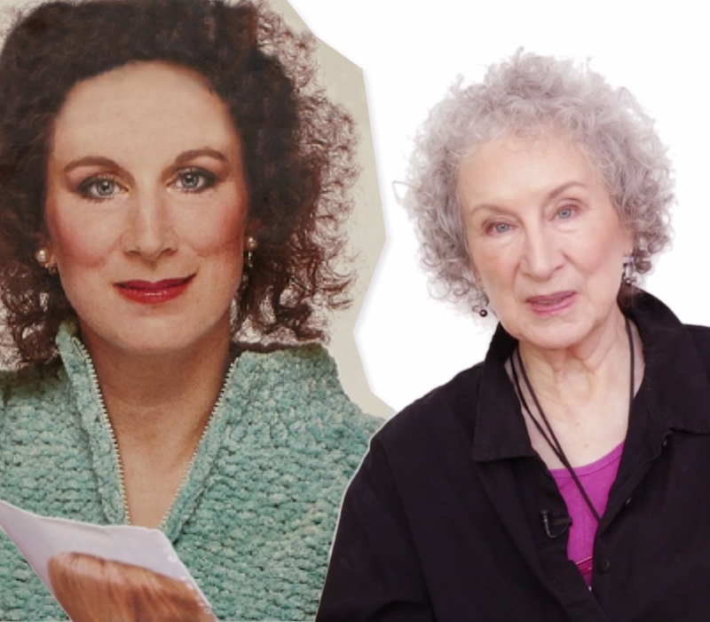 Video: Margaret Atwood re-takes a vintage <i>Chatelaine</i> quiz