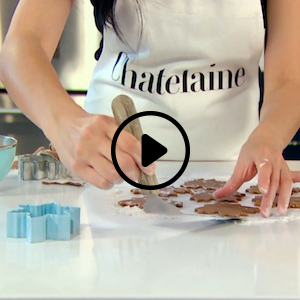 Tips on rolling and cutting cookie dough